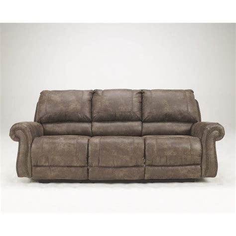 ashley furniture power reclining sofa reviews ashley furniture oberson fabric reclining power sofa in