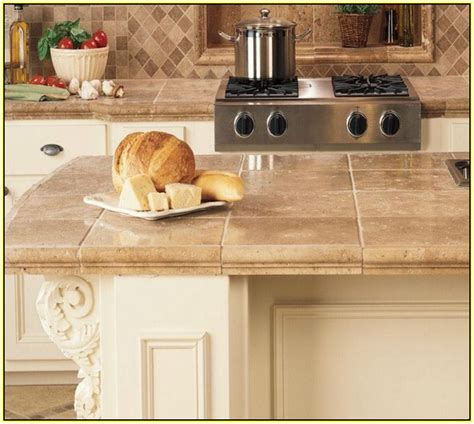 ceramic tile countertops kitchen home design ideas