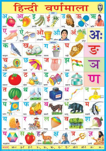 Indian Home Design Books Pdf by Alphabet Charts Hindi Alphabet Chart Manufacturer From Delhi