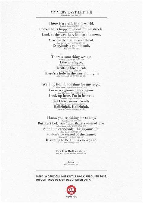 My Very Last Letter : le dernier message de David Bowie