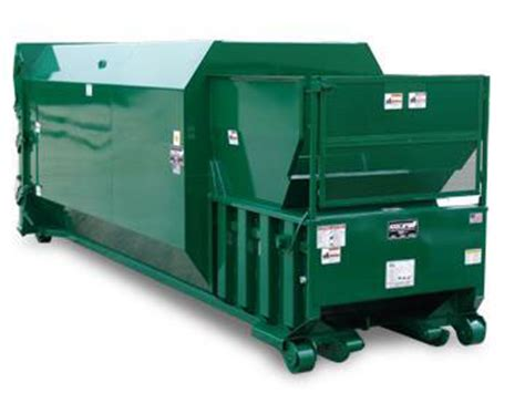 how does a commercial trash compactor work georgia baler and compactor equipment sales service