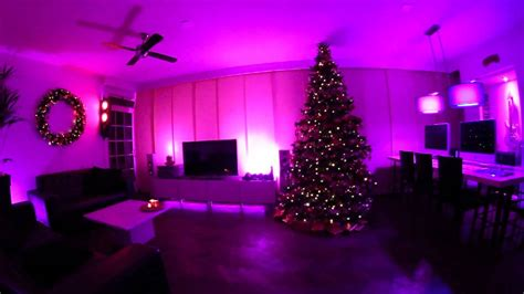 christmas with philips hue and ambify disco demo youtube
