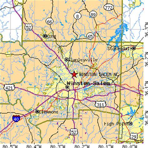 zip code map winston salem winston salem city map travelsfinders com
