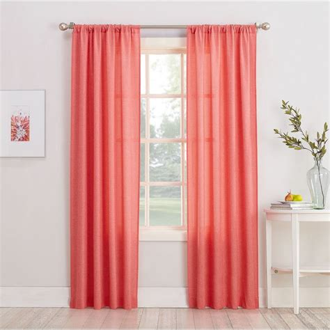 decorative window curtains best 25 coral curtains ideas on pinterest coral