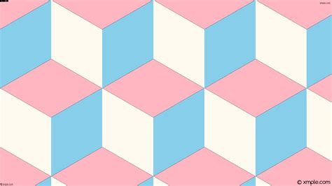 wallpaper pink blue white 3d cubes wallpapers background images