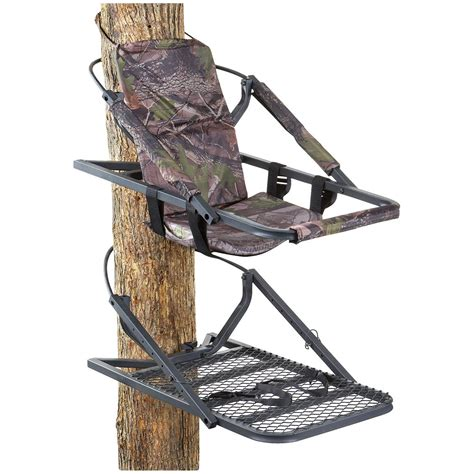 tree stand guide gear deluxe climber tree stand