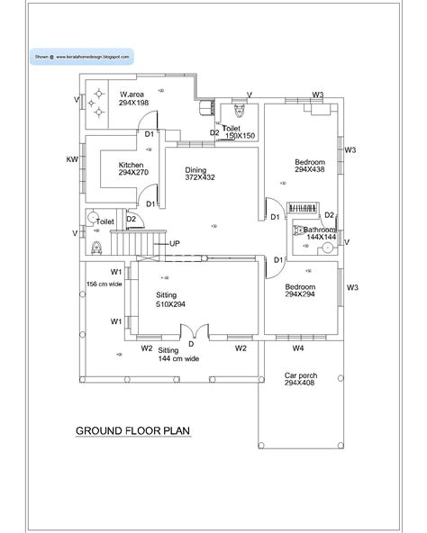 2828 ground floor plan kerala home plan and elevation 2010 sq ft kerala home design and floor plans