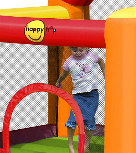 Happy Hop 9004b Air Baloon Hoop Bouncer Jump 1 gonfiabile ring happy hop ring 9004b gonfiabile di piccole dimensioni con scivolo