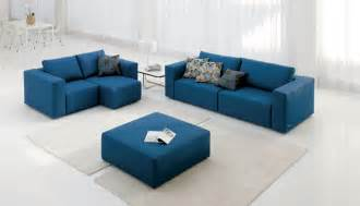 blue furniture inspired interiors reflections modern sofas available in