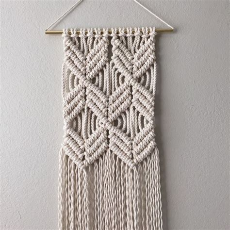 New Macrame Patterns - best 25 macrame wall hanging patterns ideas on