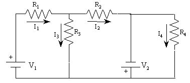 resistor direction in circuit resistors r1 r2 r3 and r4 are arranged in a cir chegg