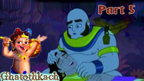tamil cartoon film youtube ghatothkach tamil animated movie part 5 ghatothkach