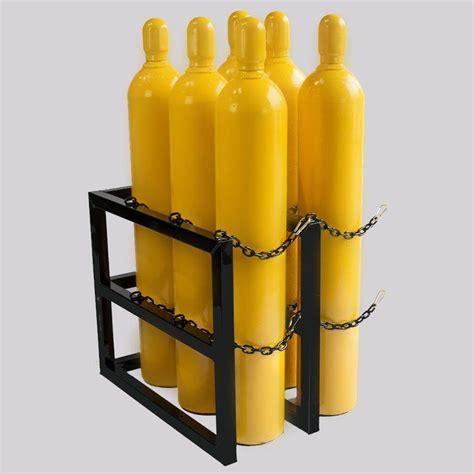Gas Cylinder Storage Racks by 3d2w L Gas Cylinder Storage Rack Certified Sales