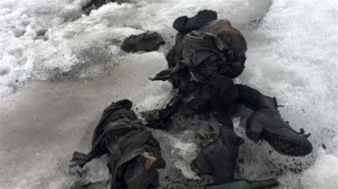cucinare sci congelati dopo 75 anni ritrovati congelati nelle alpi i corpi di una