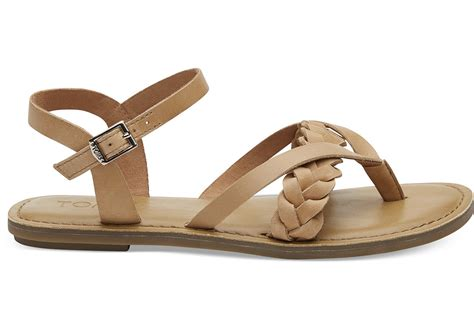 footwear shoes honey leather s lexie sandals toms 174