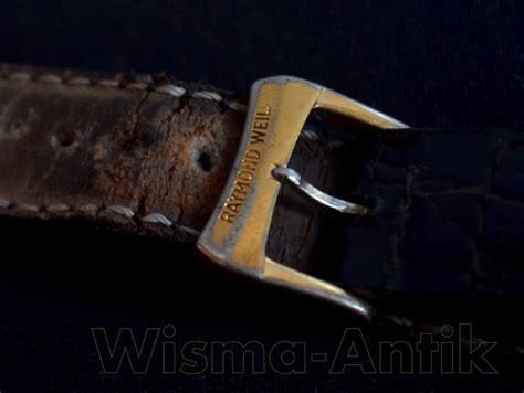 Blue Gesper wisma antik raymond weil tradition sold