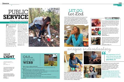 design ideas for yearbook cool page layout idea featuring clubs or student life