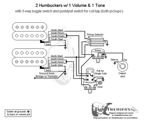wiring diagram one volume tone wiring diagram