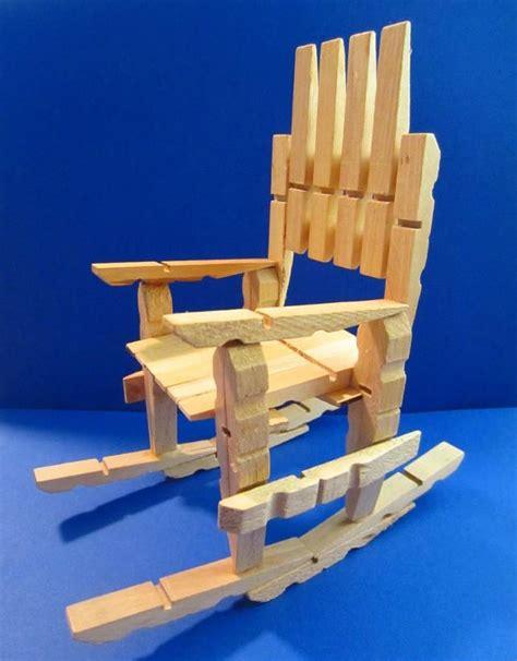 como hacer sillas de madera c 243 mo hacer sillas con pinzas de madera 11 pasos