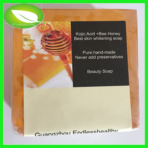 Selling Handmade Soap - 100g bee honey with kojic acid best skin care clean