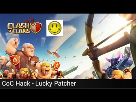 tutorial to hack clash of clans hack clash of clans lucky patcher tutorial youtube