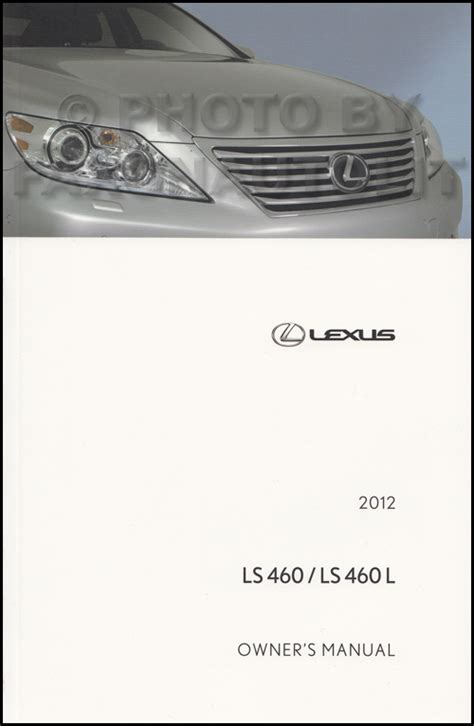 auto repair manual online 2012 lexus ls head up display 2012 lexus ls 460 owners manual original