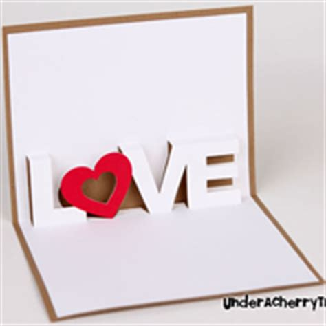 Pattern Pop Up Love | love pop up card craft passion free patterns