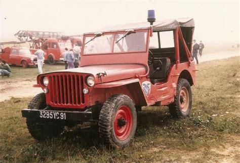 Jeep La La Jeep Pompiers En Miniature Au 1 38e Produite Par Solido