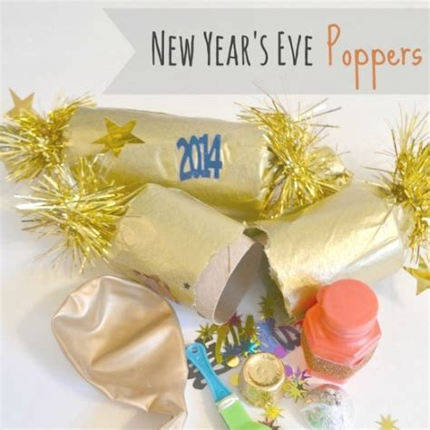 new year 2015 diy easy diy new year s poppers toddler friendly