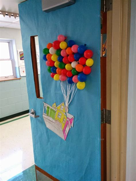 pixar classroom door classroom door decor for quot up quot disney pixar adventure theme class
