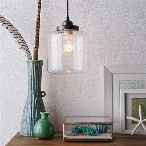 Glass Jar Pendant Lights Glass Jar Pendant West Elm