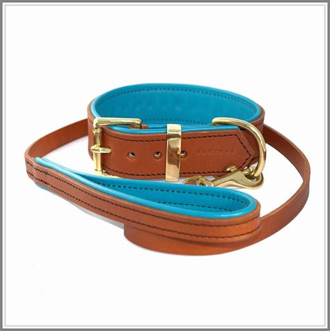 Handmade Leather Collars And Leashes - padded leather collar by annrees notonthehighstreet