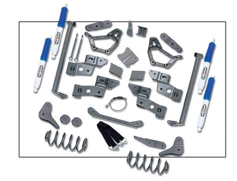 Lift Kit For 1990 Toyota 4 Quot Front 4 Quot Rear Lift Kit Stage Ii Toyota 4runner 4wd