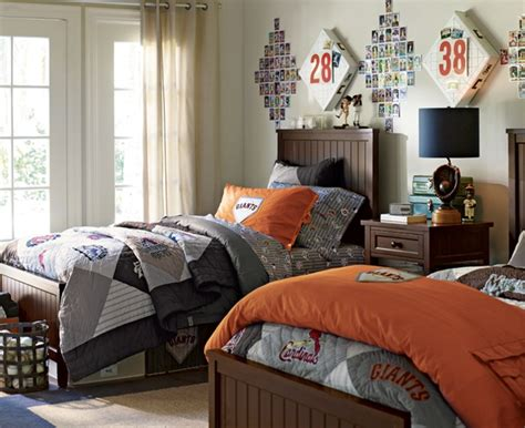 boys bedroom ls baseball bedrooms for boys mlb beadboard bedrooms