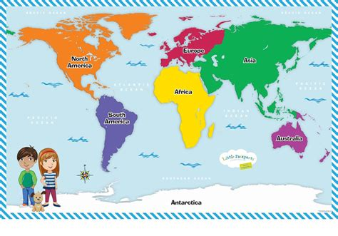 printable world map for kindergarten world themes for preschoolers geography subscription for