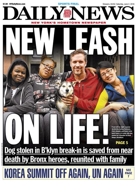 Whos News Lifestyle Magazine 2 by New York Daily News Photos Ny Daily News