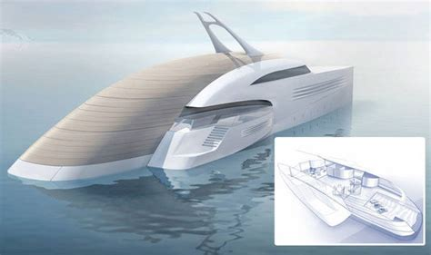 boat show jobs feadship designs superyacht with beach house travel news