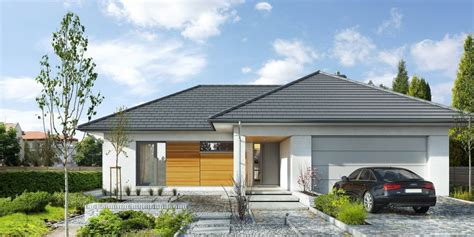 kleine überdachung bungalow mit doppelgarage beste bildideen zu hause design
