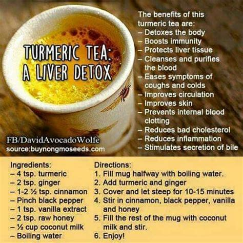 How To Drink Detox Tea by Turmeric Tea Liver Detox Turmeric Spinach