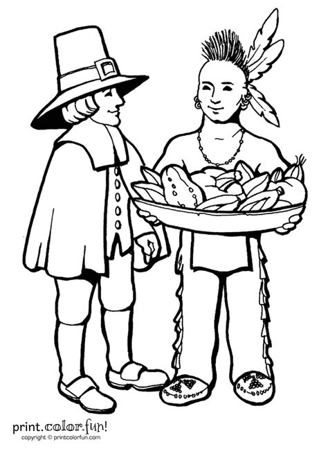 pilgrim family coloring page thanksgiving day printable coloring pages minnesota miranda