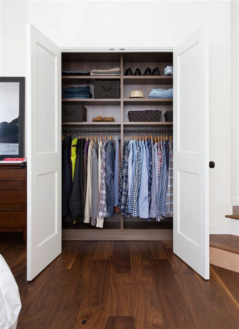 Reach In Closet Doors Small Closet Organizers Small Storage Solution For Apartment Sized Houses Decohoms