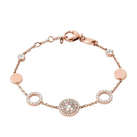 Fossil Bracelet bracelet fossil en acier jf01739791 pour femme