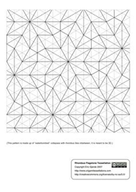 Origami Tessellations Diagrams - 1000 images about tessellation on origami