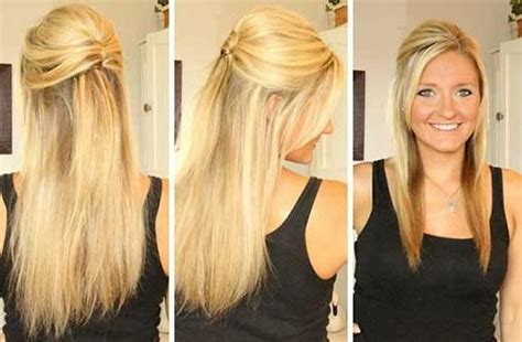 evening hairstyles for long straight hair 15 collection of long hairstyles down straight