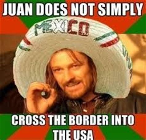 mexicans be like tae juan do tiquando