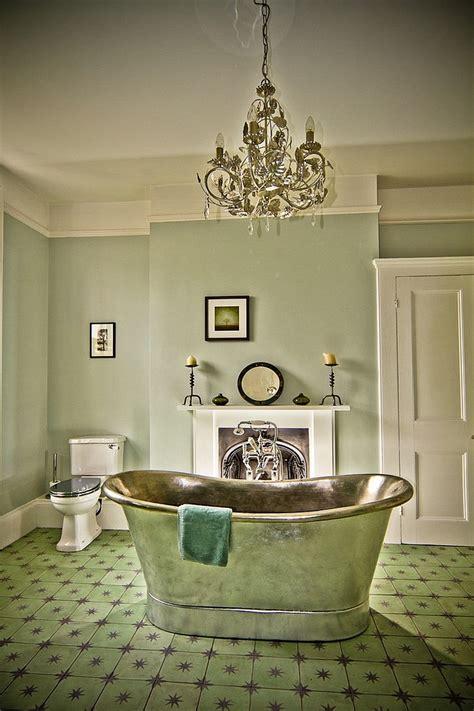 Idées Décoration pour une salle de bain verte