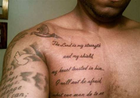 bible verse tattoos on chest scripture tattoos for tattoos