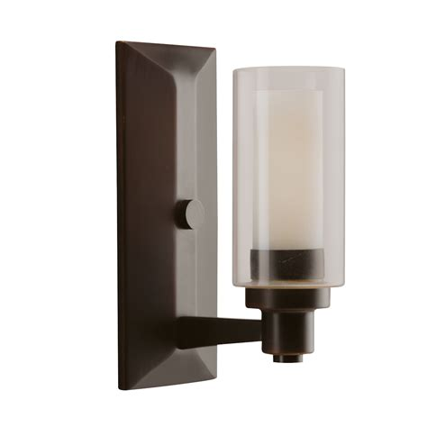 In Wall Sconce 1 Light Wall Sconce Olde Bronze Circolo Collection