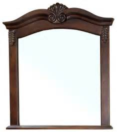 wood bathroom mirror solid wood frame mirror walnut modern bathroom mirrors