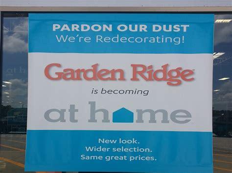 garden ridge is now at home